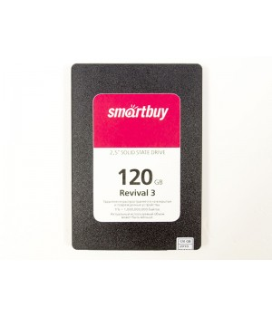 Твердотельный накопитель SmartBuy Revival 3 120 GB (SB120GB-RVVL3-25SAT3)