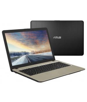 Ноутбук ASUS X540NA-GQ005 90NB0HG1-M04350 (Intel N3350 1.1 GHz/4096Mb/500Gb/Intel HD Graphics/Wi-Fi/Cam/15.6/1366x768/Endless)