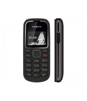 Сотовый телефон teXet TM-121 Black