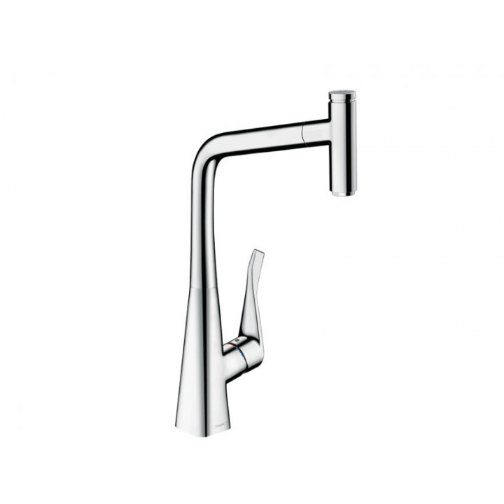 Смеситель Hansgrohe Metris Select Chrome 14884000