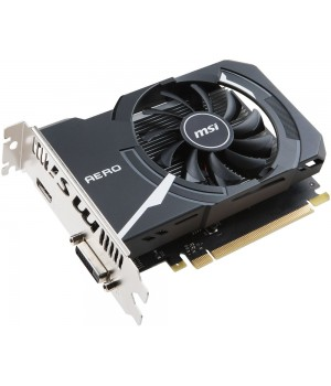 Видеокарта MSI GeForce GT 1030 1265Mhz PCI-E 3.0 2048Mb 6008Mhz 64 bit DVI HDMI HDCP GT 1030 AERO ITX 2G OC 912-V809-2492