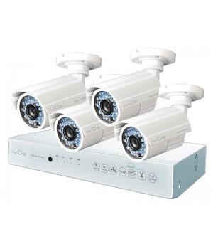 Комплект видеонаблюдения iVUE AHD 1 MPX Дача 4+4 IVUE-D5004 AHC-B4