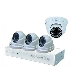 Комплект видеонаблюдения iVUE AHD 1 MPX Дома и Офиса 4+4 IVUE-D5004 AHC-D4
