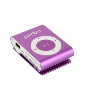 Плеер Perfeo VI-M001 Music Clip Titanium Purple