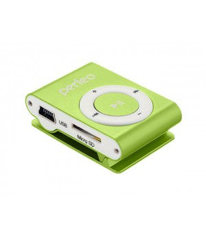 Плеер Perfeo Titanium Lite Green PF_A4145