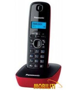 Радиотелефон Panasonic KX-TG1611 RUR Red