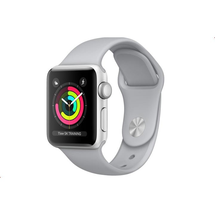 Умные часы APPLE Watch Series 3 38mm Silver with Fog Sport Band MQKU2RU/A