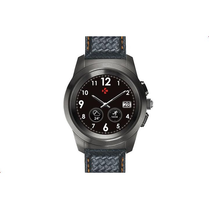 Умные часы MyKronoz ZeTime Premium Regular Black-Orange