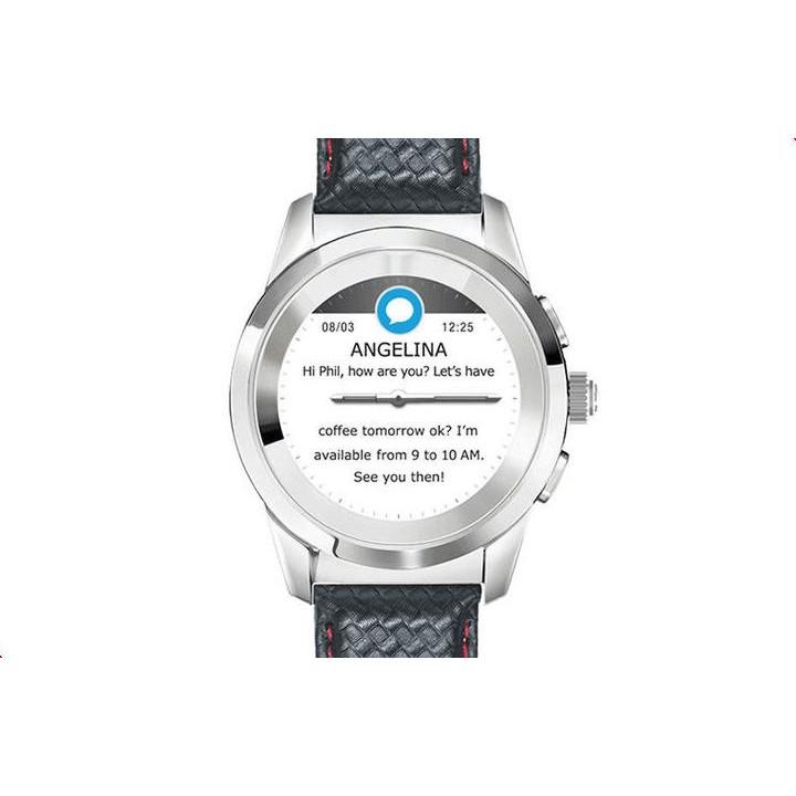 Умные часы MyKronoz ZeTime Premium Regular Black-Red