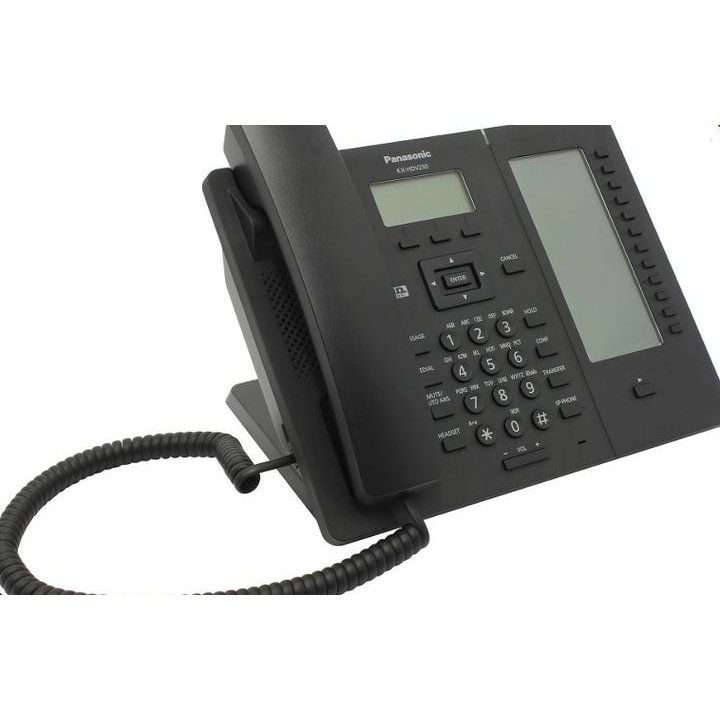 VoIP оборудование Panasonic KX-HDV230RUB Black