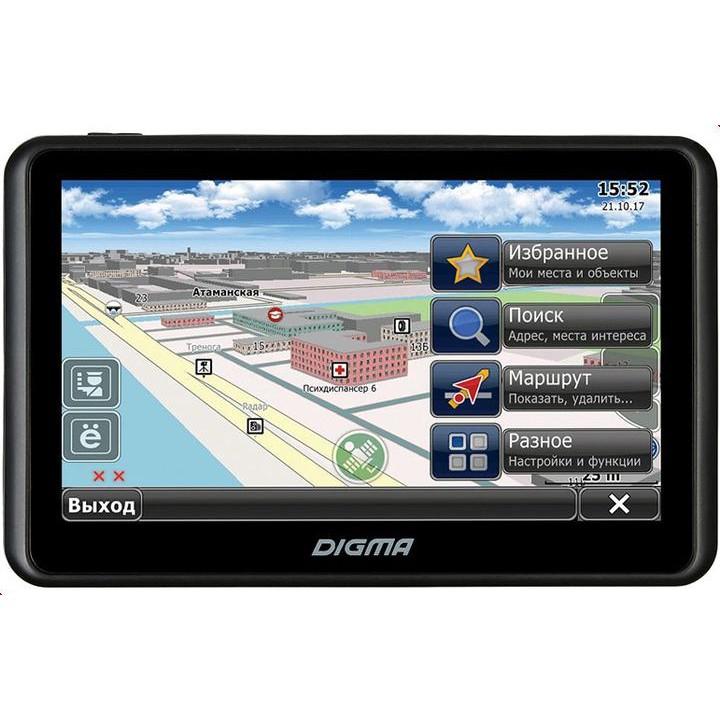 Навигатор Digma AllDrive 505 Black
