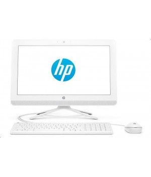 Моноблок HP 20-c401ur 4GU78EA Snow White (Intel Celeron J4005 2.0 GHz/4096Mb/500Gb/DVD-RW/Intel HD Graphics/Wi-Fi/19.5/1600x900/DOS)