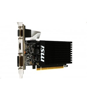 Видеокарта MSI GeForce GT 710 954Mhz PCI-E 2.0 2048Mb 1600Mhz 64 bit DVI HDMI HDCP GT 710 2GD3H LP