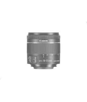 Объектив Canon EF-S 18-55 mm F/4-5.6 IS STM Black