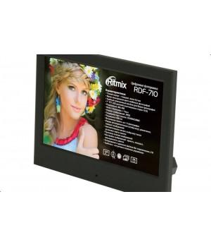 Цифровая фоторамка Ritmix RDF-710 Black