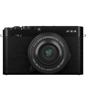 Fujifilm X-E4 kit (XF 27mm) Black (16673885)