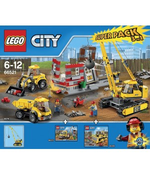 LEGO 66521 Demolition Super Pack