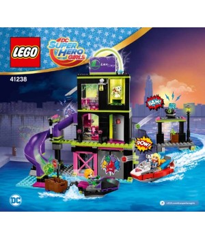 Lego Lena Luthor Kryptomite Factory 41238