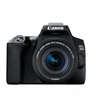 Canon EOS 250D Kit 18-55mm f/4-5.6 IS STM Black
