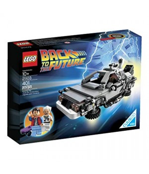 Lego The DeLorean Time Machine 21103