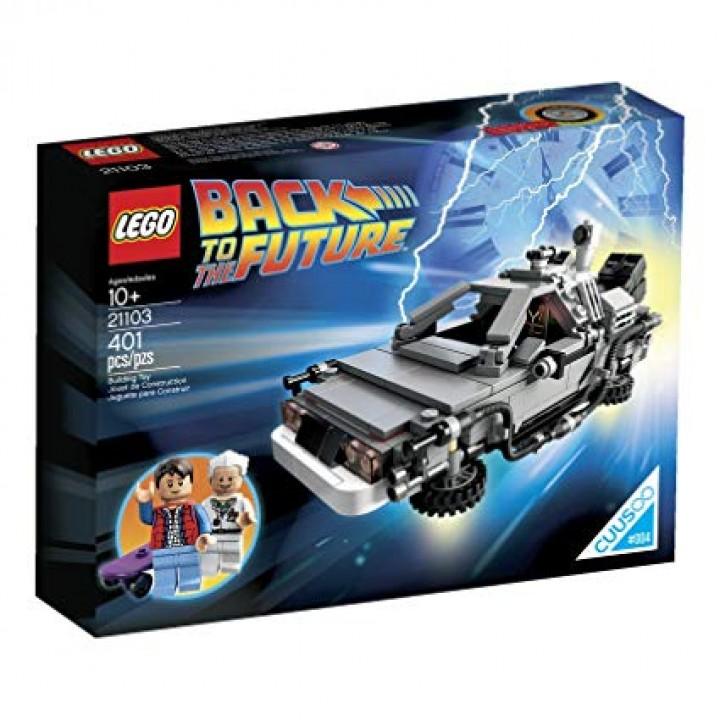 Lego The DeLorean Time Machine 21103
