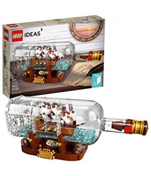 Lego Ship in a Bottle 21313