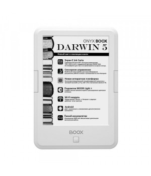 Электронная книга ONYX BOOX DARWIN 5 White