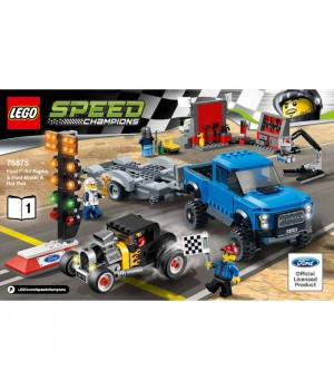 Lego Ford F-150 Raptor and Ford Model A Hot Rod 75875