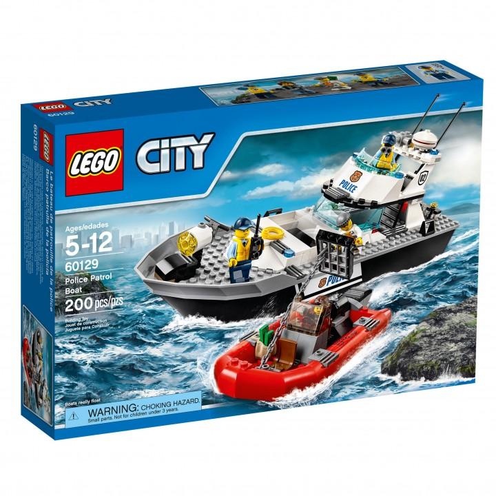 Lego Police Patrol Boat 60129