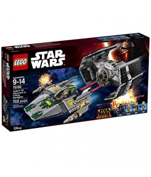 Lego Vaders TIE Advanced vs. A-Wing Starfighter 75150