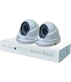 Видеонаблюдение iVUE AHD 1 MPX Дома и Офиса 4+2 IVUE-D5004 AHC-D2