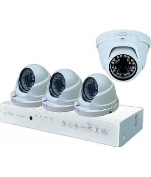 Видеонаблюдение iVUE AHD 1 MPX Дома и Офиса 4+4 IVUE-D5004 AHC-D4