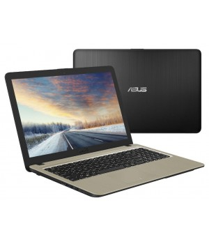 Ноутбук ASUS X540MA-GQ064 90NB0IR1-M00820 Black (Intel Celeron N4000 1.1Ghz/4096Mb/500Gb/Intel UHD Graphics 600/Wi-Fi/Bluetooth/Cam/15.6/1366x768/Linux)