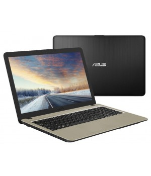 Ноутбук ASUS X540NA-GQ005 90NB0HG1-M04350 (Intel N3350 1.1 GHz/4096Mb/500Gb/Intel HD Graphics/Wi-Fi/Cam/15.6/1366x768/Endless)