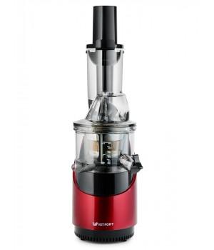 Шнековая соковыжималка Kitfort KT-1106-1, красная