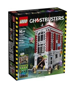 LEGO Штаб-квартира охотников за привидениями Ghostbusters (75827)