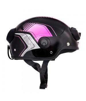 Шлем с камерой Airwheel C6 (цвет фиолетовый №664, размер M)