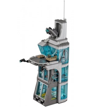 Lego Attack on Avengers Tower 76038