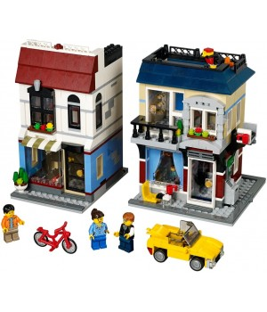 Lego Bike Shop and Cafe 31026