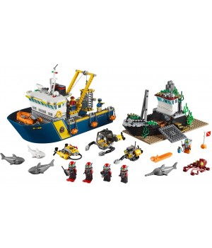 Lego Deep Sea Exploration Vessel 60095