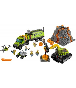 Lego Volcano Exploration Base 60124