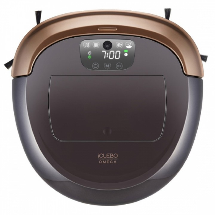 Робот-пылесос iClebo Omega YCR-M07-10 Gold