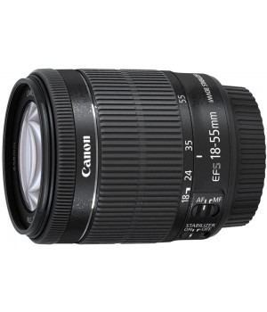 Объектив Canon EF-S 18-55 mm F/3.5-5.6 IS STM KIT Silver