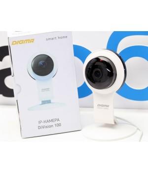 IP камера Digma DiVision 100 Black